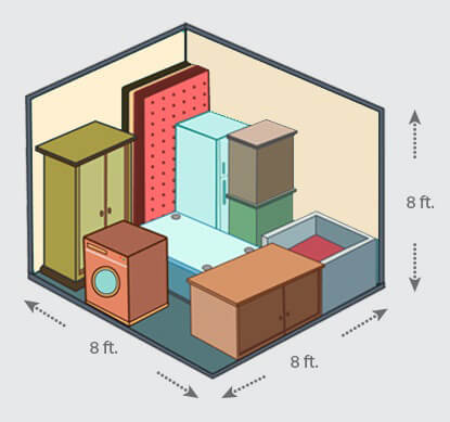 storage space for business in india